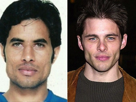 gurbaj singh james marsden olympic athlete celebrity look-alike