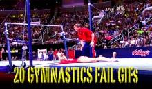 20 Gymnastics Fail GIFs