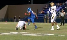 Here's The Hardest Football Hit You'll See All Year (Video)