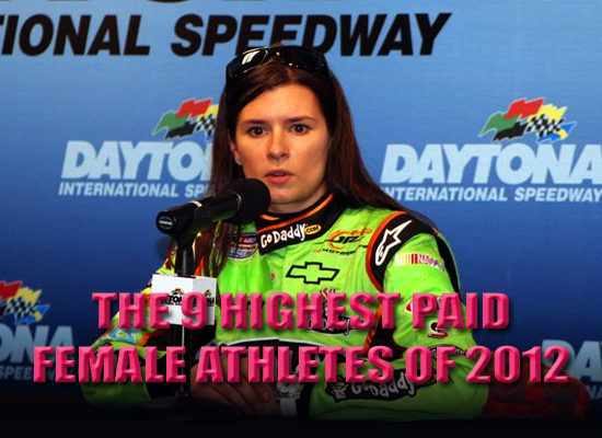 highest paid female athletes 2012 top earning