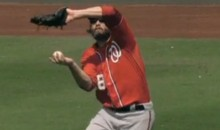 Jayson Werth Makes A Nice Barehanded Catch (Video)