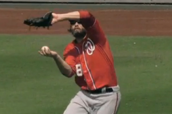jayson werth barehanded catch