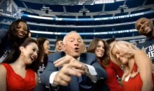 Cowboys Owner Jerry Jones Raps About Papa John's (Video)