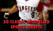 30 Classic Misspelled Sports Jerseys