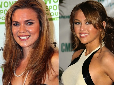 natalie coughlin miley cyrus olympic athlete celebrity look alikes