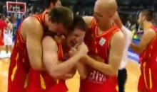 Montenegro Defeats Serbia With Awesome Half-Court Buzzer-Beater (Video)
