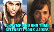 15 Olympians And Their Celebrity Look-Alikes