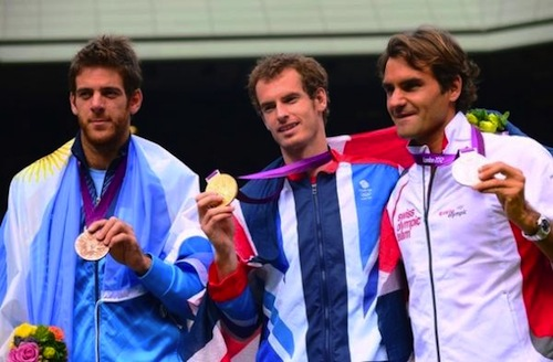 olympic tennis men's medalists