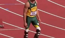 Double Amputee Oscar Pistorius Made History Yesterday By Running In The Men's 400m Semifinal In London (Video)
