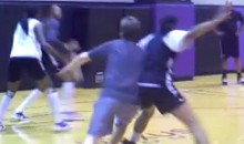 Mayor of Phoenix Breaks His Nose Practicing with WNBA's Phoenix Mercury (Video)