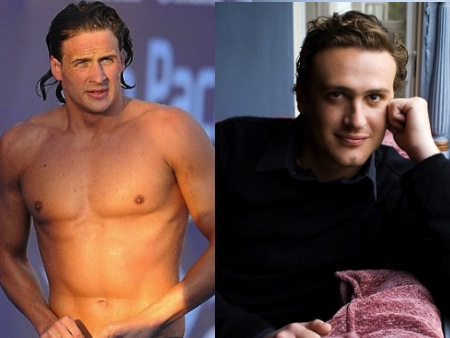 ryan lochte jason segel olympic athlete celebrity look alikes