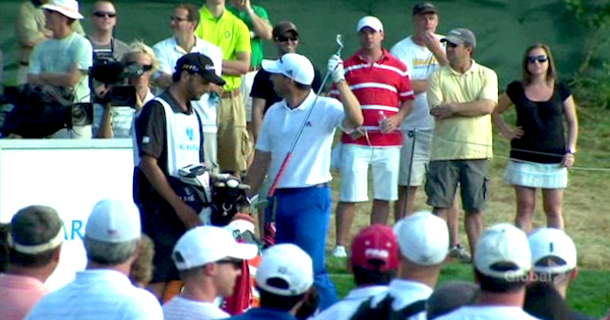 sergio garcia booed at the barclays new york