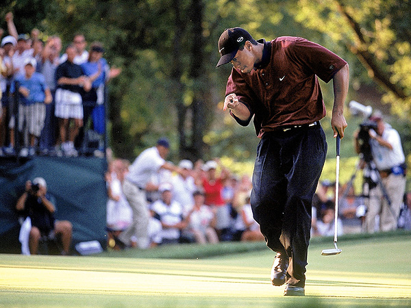 Tiger Woods at the 2000 PGA
