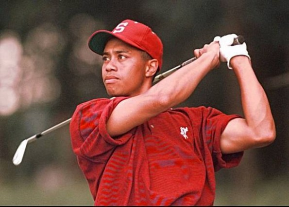 tiger woods amateur