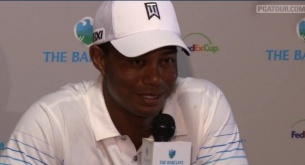 tiger woods barclays presser