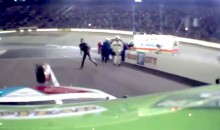 There Was Helmet-Throwing And Finger-Pointing At Bristol Motor Speedway Saturday Night (Video)