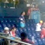 venezuelan boxing fan at olympics