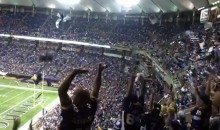 Vikings Fans Do The Wave And Throw Things For 25 Minutes During Friday's Preseason Game (Videos)