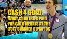 Cash 4 Gold: What Countries Pay for Gold Medal Winners at the 2012 Summer Olympics