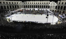 Ever Wonder What It Would Be Like If They Played Hockey In An Ancient Roman Coliseum? Well Here You Go (Pics)