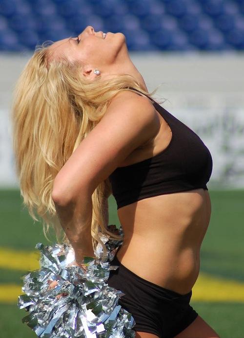 1 chesapeake bayhawks hawkettes cheerleaders KIM B