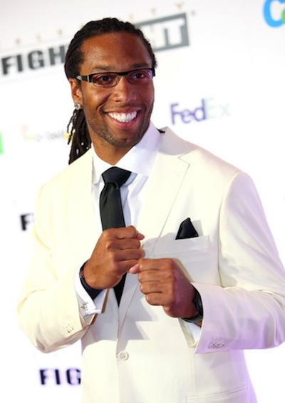 1 larry fitzgerald best dressed NFL players