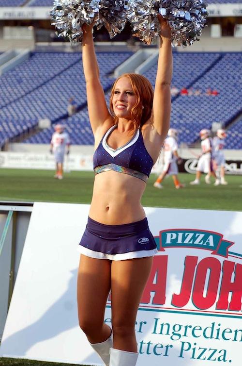 10 chesapeake bayhawks hawkettes cheerleaders EVE O