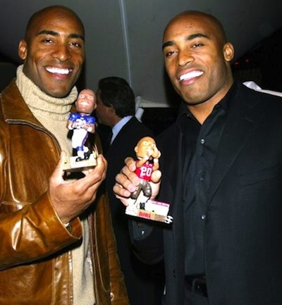 11 ronde and tiki barber best dressed NFL players