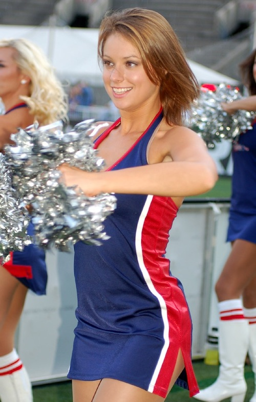 4 boston cannons dance team BRITTANY