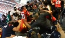 Fans Brawl During 49ers-Texans Game (Video)