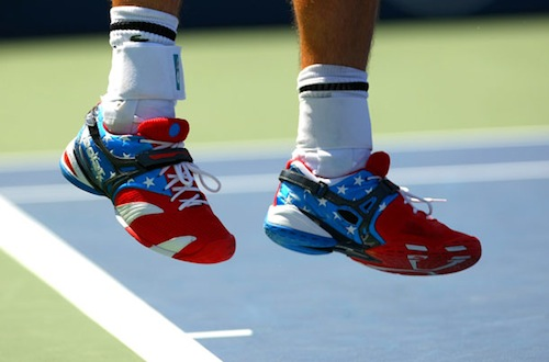 9 andy roddick shoes 2012 us open fashion