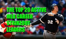 The Top 20 Active MLB Career Strikeout Leaders