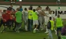Algeria and Libya Engage In Post-Match Soccer Brawl (Video)