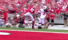 "Ohio State's Devin Smith Makes ""Catch Of The Year"" In First Game Of 2012 College Football Season (Video)"