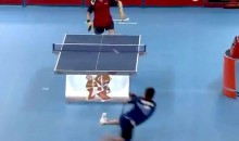 Check Out This Amazing Table Tennis Shot From The 2012 Paralympic Games (Video)