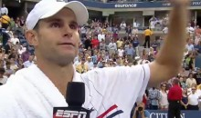 Andy Roddick Gave A Heartfelt Farewell Speech At The US Open Last Night (Video)