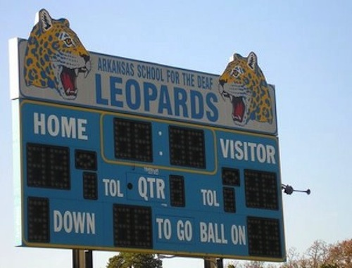 arkansas school for the deaf leopards