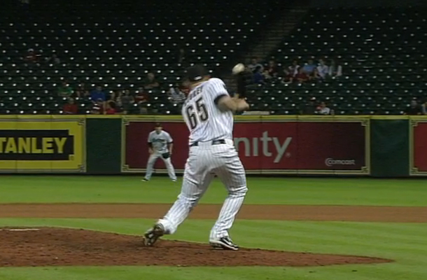 astros pitcher micky storey hit in head with line drive
