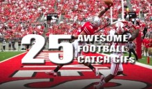 25 Awesome Football Catch GIFs