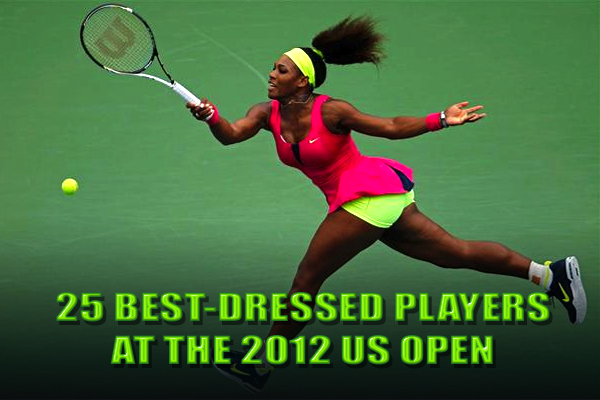 best dressed players 2012 us open fashion
