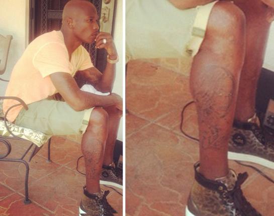 chad johnson evelyn lozada face tattoo