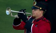 Cincinnati Marching Band Member Fell And Broke His Trumpet, So He Just Pretended To Play It (Video)