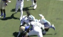 Scary Stuff: Tulane Safety Devon Walker In Stable Condition After Breaking His Neck (Video)