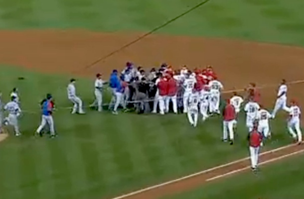 cubs nats brawl