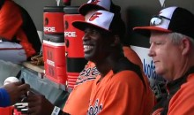 """Prime Time"" Deion Sanders Took BP With The Orioles Yesterday And Knocked One Out Of The Park"