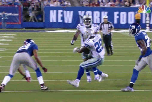 dez bryant tackle murray