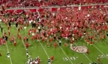 Utah Fans Rushed The Field Prematurely Against BYU…Twice (Video)
