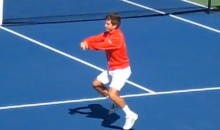 Filip Peliwo Does Terrible Gangnam Style Dance During His Team Canada Davis Cup Initiation (Video)