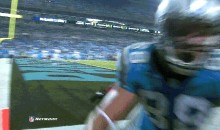 Watch Greg Olsen And Antrel Rolle Crash Into A Camera During Last Night's Giants-Panthers Game (Video + GIF)
