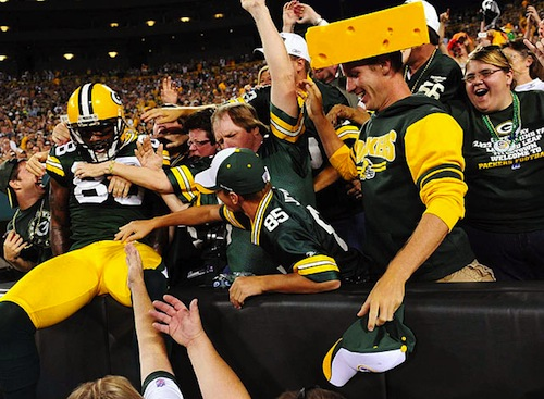 green bay packers cheeseheads